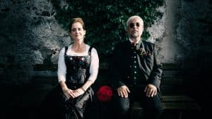 hochzeitsfotograf traunkirchen, Brautpaar in Tracht