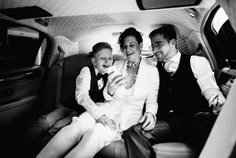 Hochzeitsfotograf Graz Stretchlimo
